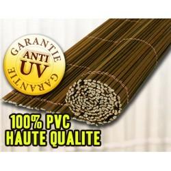 Brande permanente 1x3 m PVC Imitation Bruyer ou Osier