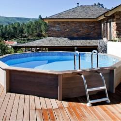 piscine hors sol ronde La Haute-Maison (Seine-et-Marne)