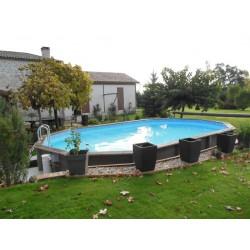 piscine hors sol ronde Maudétour-en-Vexin (Val-d'Oise)