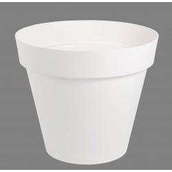 Pot Toscane Ø60 cm rond Blanc