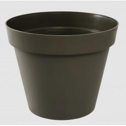 Pot Toscane Ø80 cm rond Taupe