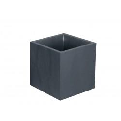 """Bac carré """"VOLCANIA"""" Gris Anthracite 40 cm et 31 L"""