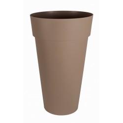 Pot TOSCANE Haut Rond Taupe