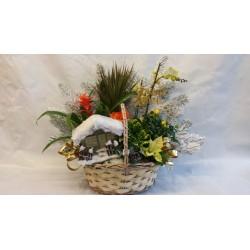 Compositions florales spécial Noël 2015