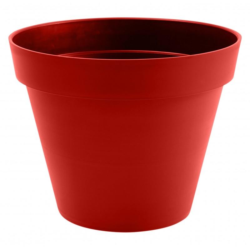 Pot Toscane Ø 60 cm rond Gris anthracite