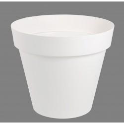 Pot Toscane Ø 60 cm rond Blanc