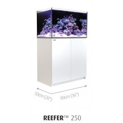 Aquarium Red Sea Reefer 250 Blanc (Meuble Inclus)