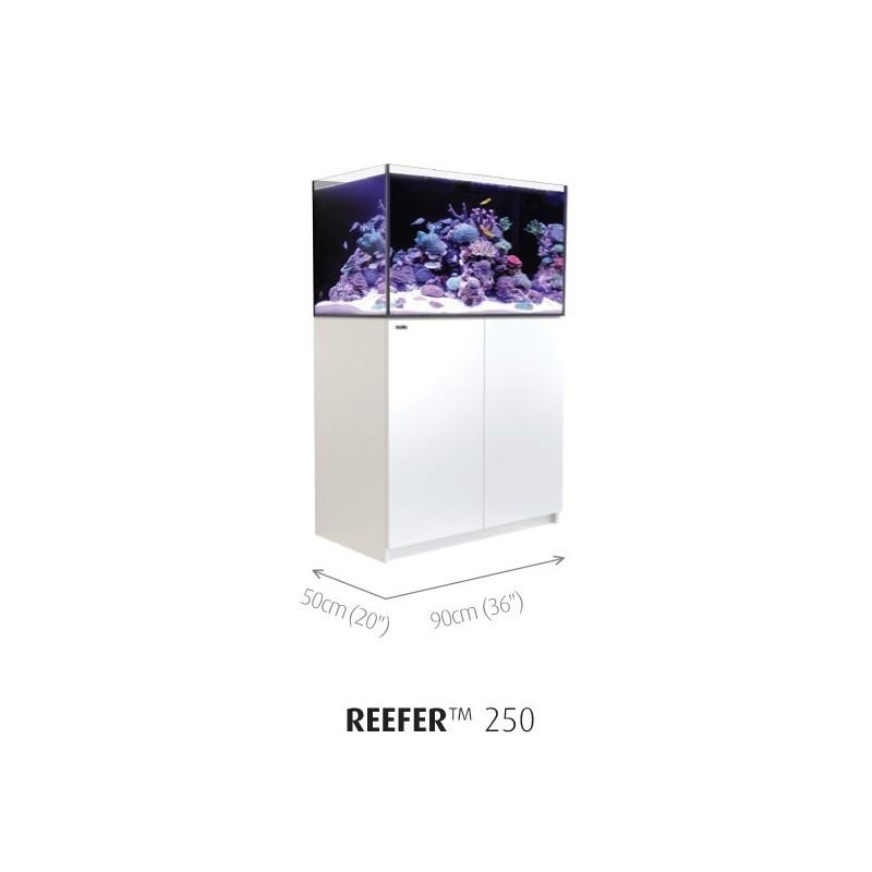 Aquarium Red Sea Reefer 250 Blanc (Meuble Inclus)