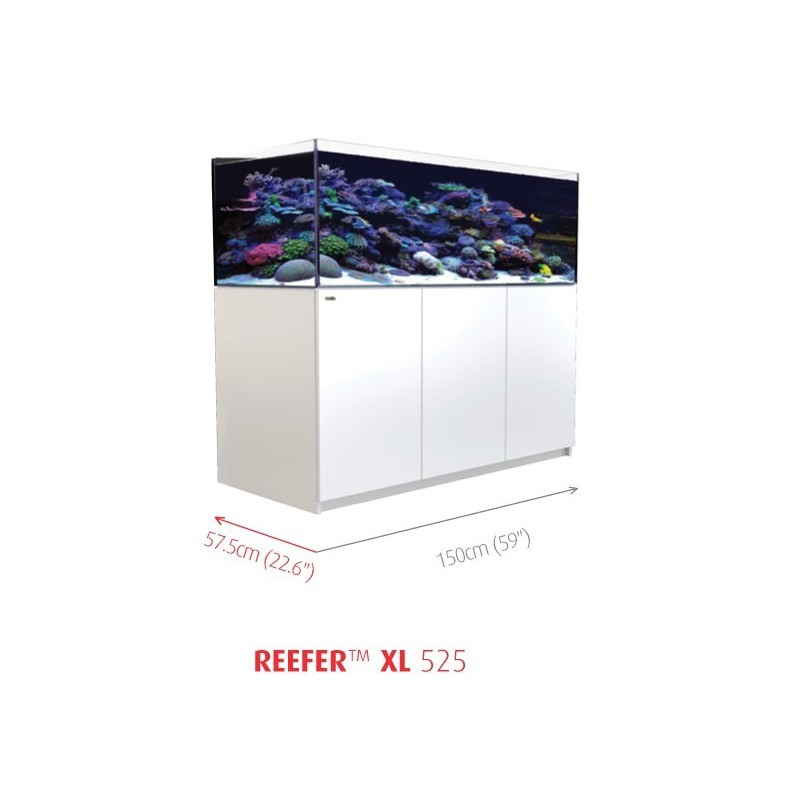Aquarium Red Sea Reefer XL 525 Blanc (Meuble Inclus)
