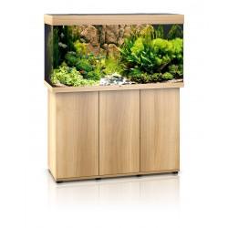 Ensemble Aquarium + Meuble Rio 300 Juwel Bois Clair Hêtre