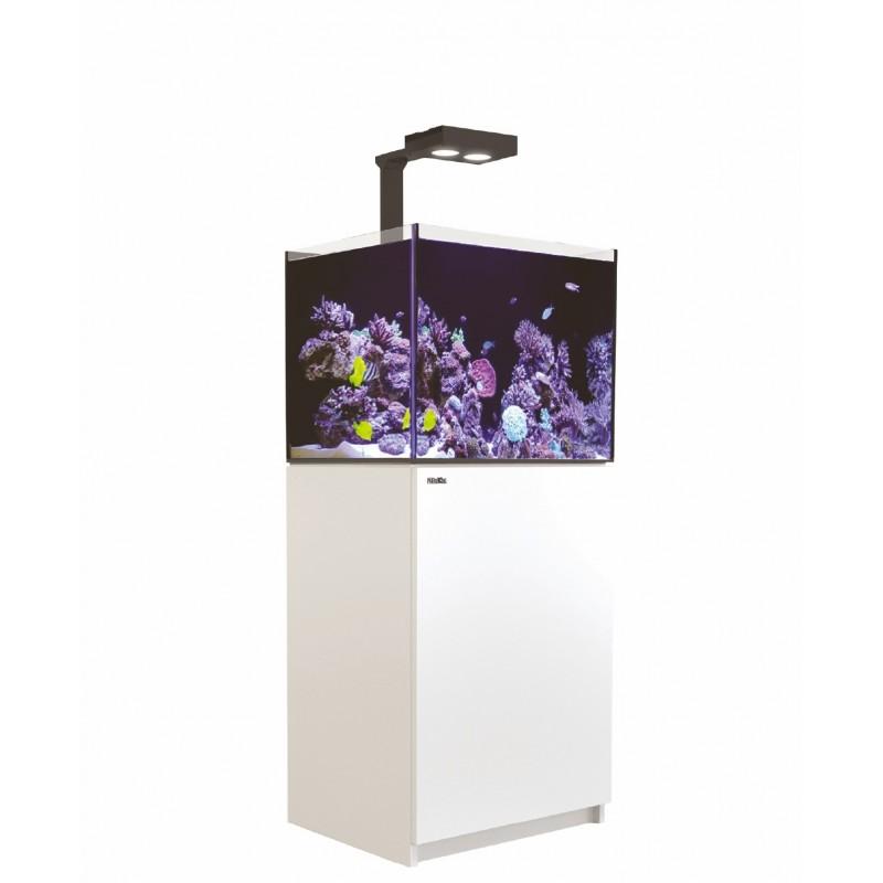 Aquarium Red Sea Reefer Deluxe 170 Blanc (Meuble + 2 Hydra 26 HD + 2 potences Inclus)