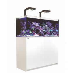 Aquarium Red Sea Reefer Deluxe 350 Blanc (2 Hydra 26 HD + 2 potences + Meuble Inclus)