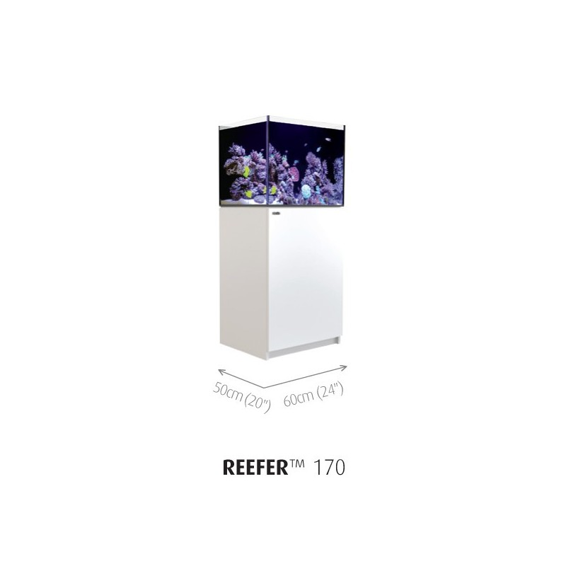 Aquarium Red Sea Reefer 170 Blanc (Meuble Inclus)