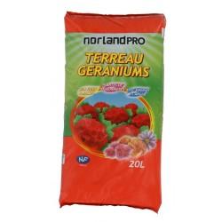Norland Pro Terreau Géraniums 20 L