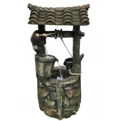 Fontaine en résine Bozen 57 x 58 x 105 cm