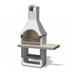 Barbecue en béton Santa Fé 125 x 64 x 212 cm