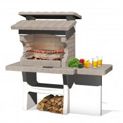 Barbecue en béton Luxor 159 x 72 x 161 cm
