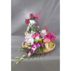 Compositions florales Fêtes des Grands-Mères 2018 (Montataire)