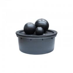 Fontaine 3 boules Granito