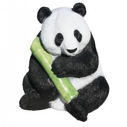 Panda en statue de pierre  h.53 cm