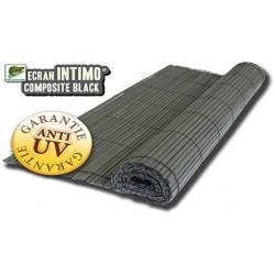 Ecran Intimo Composite Black Pleine Masse 1 x 3 m