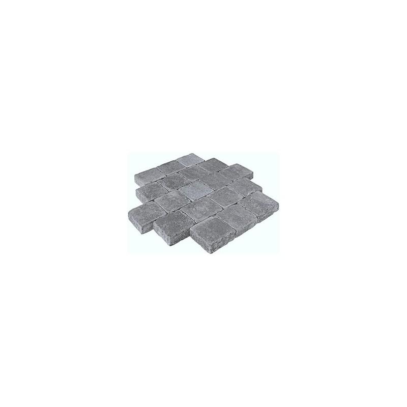 Pavés Hydra Noir 15 x 15 x 8 cm
