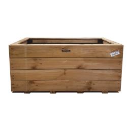 Jardinière en bois traité HillhouT - Couleur bois naturel