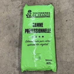 Sac de terreau gamme professionnelle 40 L - Tourbières de France