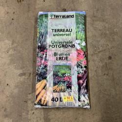 Sac de terreau universel 40 L + 10 L gratuit- Terraland