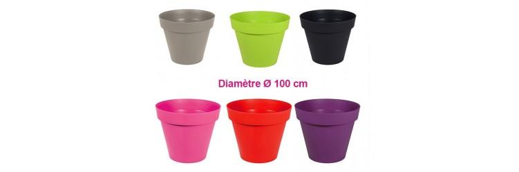 Pot et Jardinière en plastique